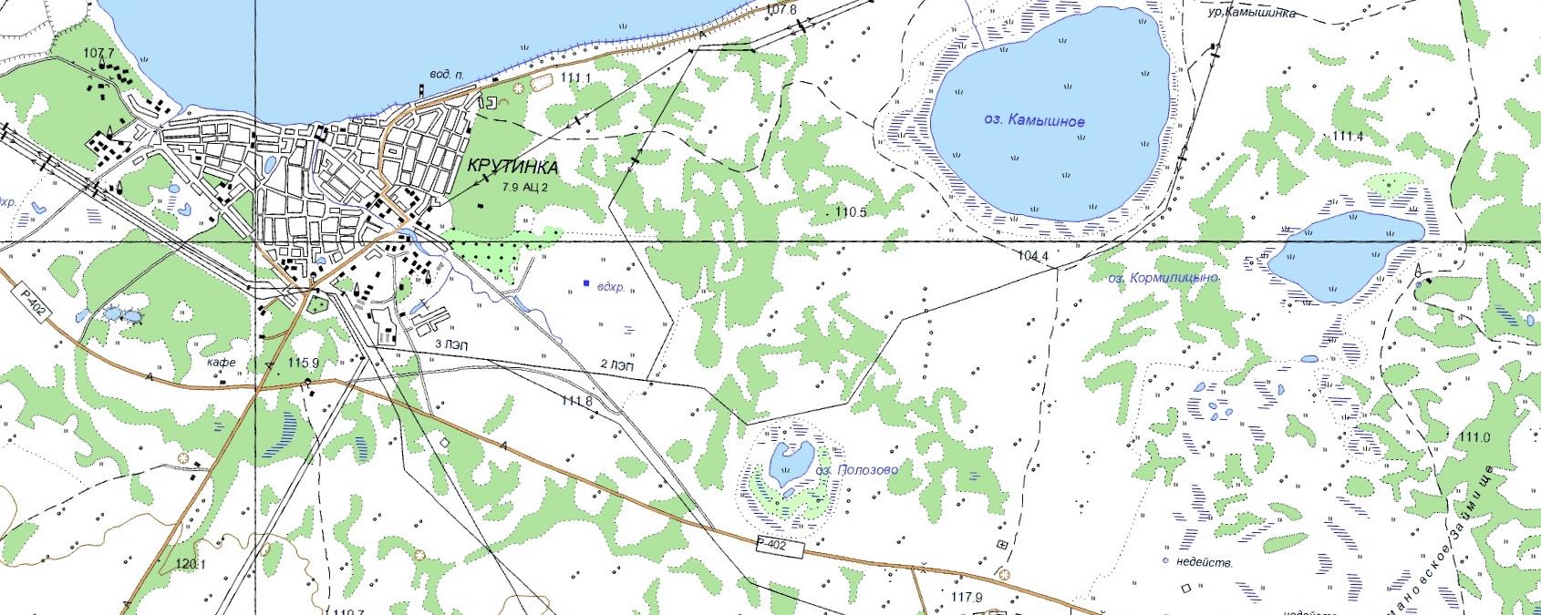 Топо карта для Garmin